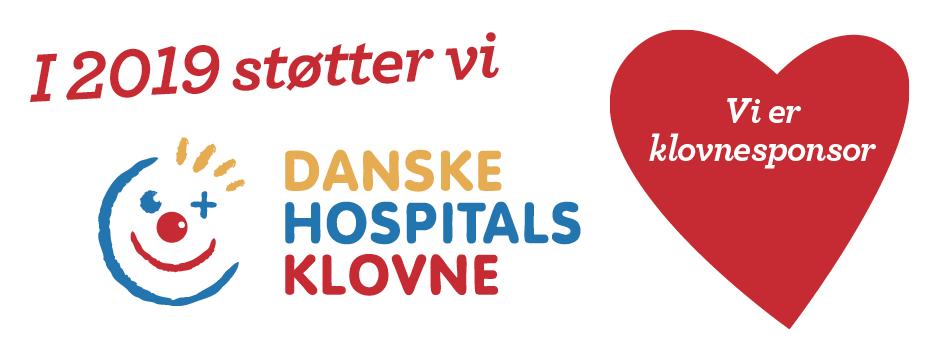 danske hospitals klovne logo