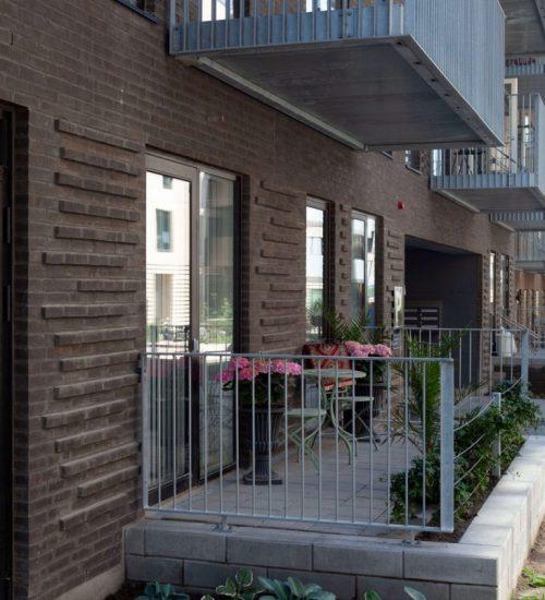 Entreprenørfirma Køge, Sjælland, terrasse på stueplan